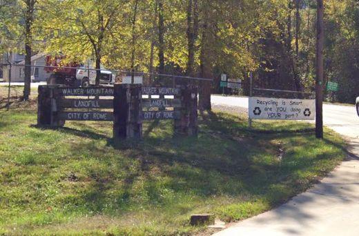 Walker Mountain entrance